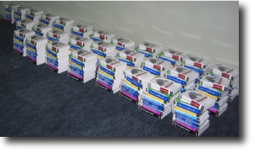 Oreilly and FreeBSD Mall book donation for PacNOG2 workshop participants