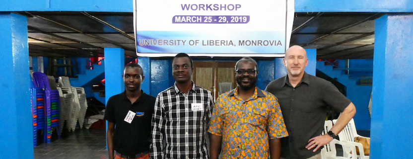 March: ​LRREN-USAID-DLEG Campus Network Design & Operations Workshop, Monrovia, Liberia